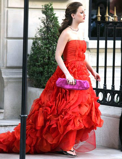 Catherine malandrino dress gossip girl vanessa necklaces