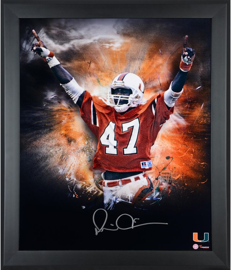 029368ff32b ... Retired Peyton Manning jersey. Michael Irvin Miami Hurricanes Framed  Autographed 20 ...