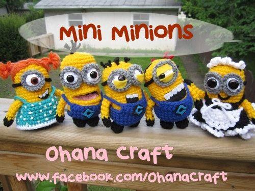 Patron Minion Amigurumi : 78 best crochet minions images on pinterest crochet minions knit