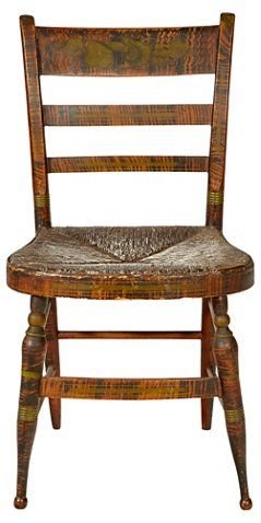 Early 19th C Side Chair With Rush Seat 2 B Modern In 2018 Brown Pinterest Chairs And