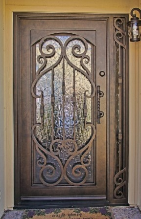http://www.preventivehomemaintenancetips.com/entrywaydoors.php has some tips and advice on choosing the right door for your home.