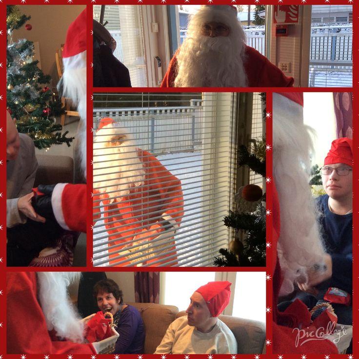 Joulu-ukko vieraili