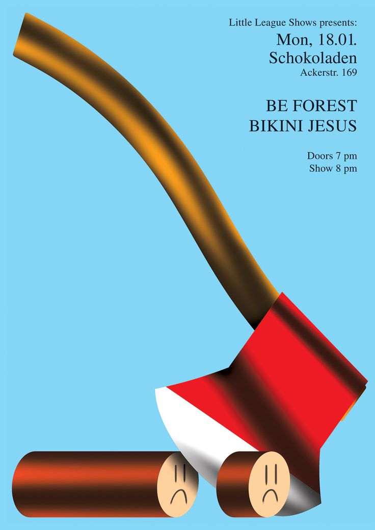 Be Forest poster by Braulio Amado #graphic #design #poster