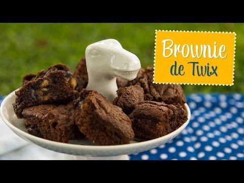 Moldando Afeto » brownie de twix — o chef e a chata