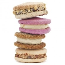 Jeni's Ice Cream Sandwich Collection.  I think this would be such a great little treat for a newly pregnant friend!  They ship the package on dry ice...no worries.
