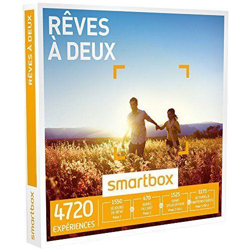 SMARTBOX – Coffret Cadeau – RÊVES À DEUX – 3940 expériences : séjour, séance bien-être, gastronomie ou aventure: Une activité ou un séjour…