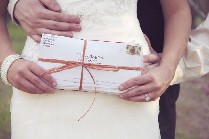 AWWWWW.. THIS IS SUCH A CUTE IDEA :) haha.. Emilie Ann Photography- 2 Years of missionary letters.  Our love story!