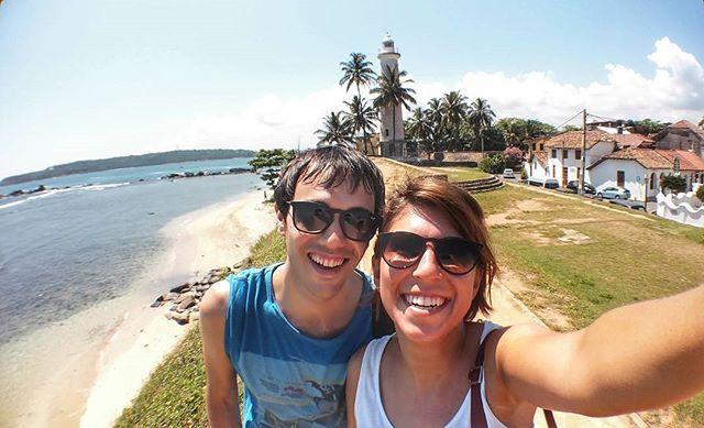 Fun 😎 #meandyou #gallefort #srilanka #selfie #followthesun #beautifulview  #beach #sea #sky #colors #sun #beautifulplaces #wonderful #photography #photooftheday #traveladdicted #bestpicture #love #travel #travelgram #igtravel #instago #instagood #instatravel #TagsForLikes #wanderlust #likeforlike #viaggio #viaggiare #turistipercaso by marta901. viaggio #photooftheday #photography #bestpicture #meandyou #sun #selfie #travel #likeforlike #beautifulview #viaggiare #sky #colors #sea #srilanka…