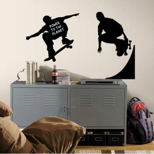 Las 25 mejores ideas sobre dormitorio de joven varon en for Vinilos juveniles nina