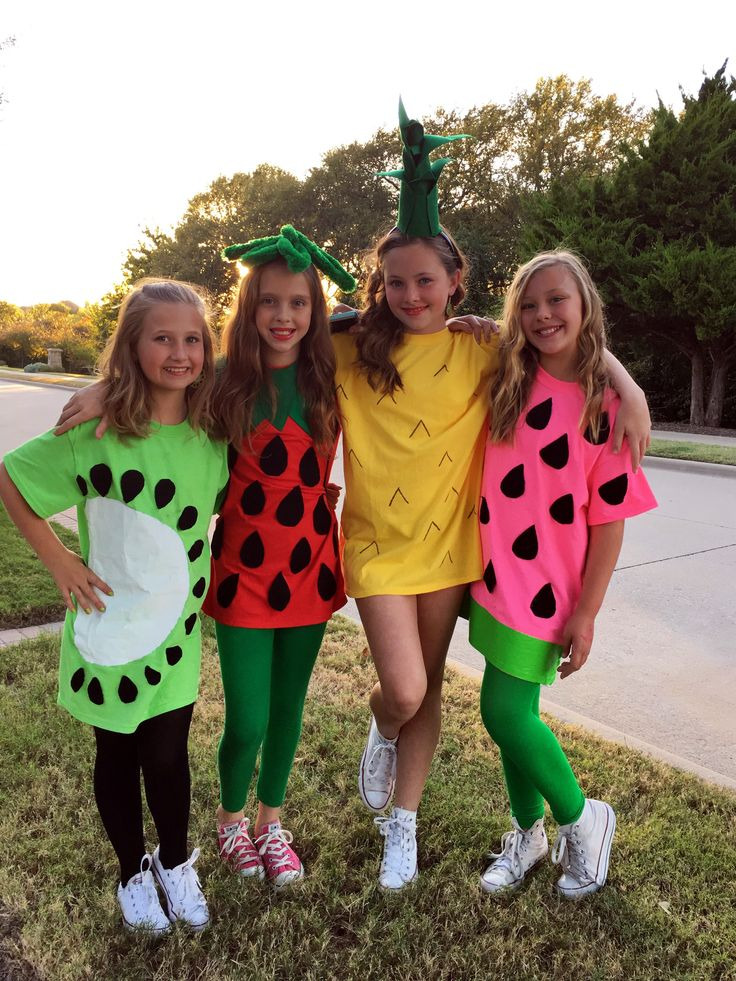 Fruit Salad Halloween costumes