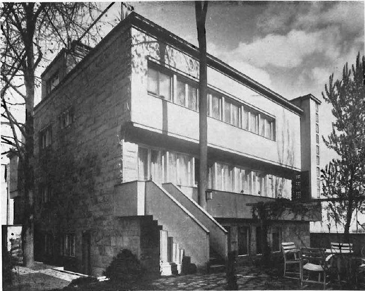 Bohdan Pniewski, Warsaw, ca. 1935-36