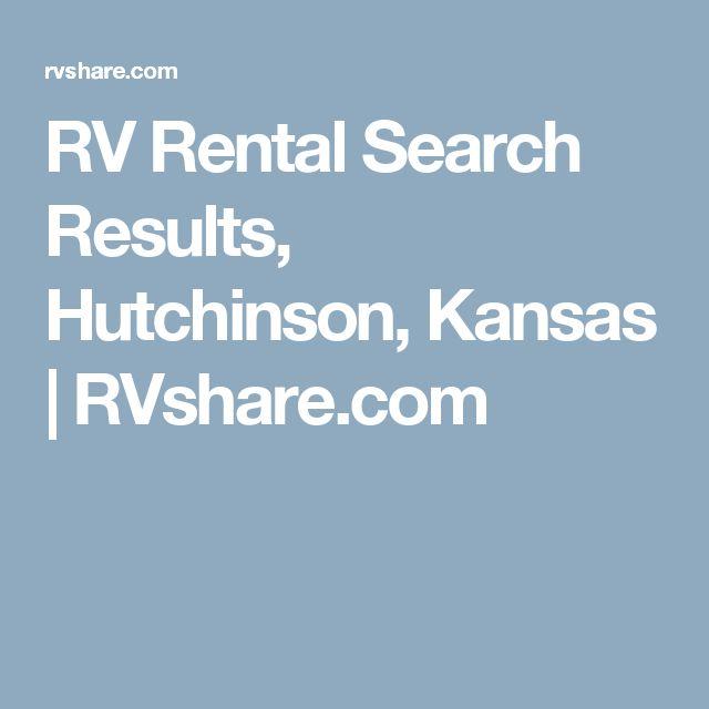RV Rental Search Results, Hutchinson, Kansas   RVshare.com