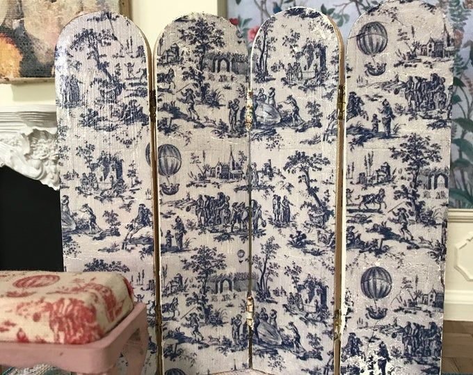 Rub On Transfers For Furniture Midnight Floral Furniture Decals Redesign With Prima Transfers Rose Furniture Transfers 33 X 22 Dressing Screen Blue Toile Wooden Dollhouse