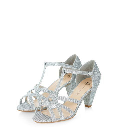 New Look FLATTER - T-bar sandals - white kLBYBd5l1
