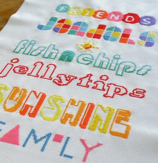 Favourite Summer Things Cross Stitch | The Stitchsmith