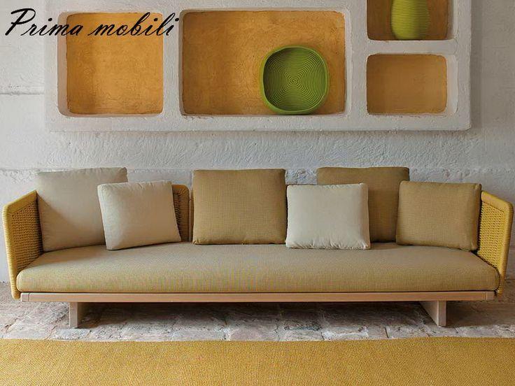 Итальянский садовый диван Sabi Paola Lenti купить в Москве в Prima mobili