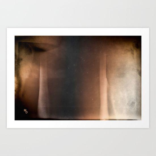 Brown abstraction  Art Print by Marie Deschene - $15.00