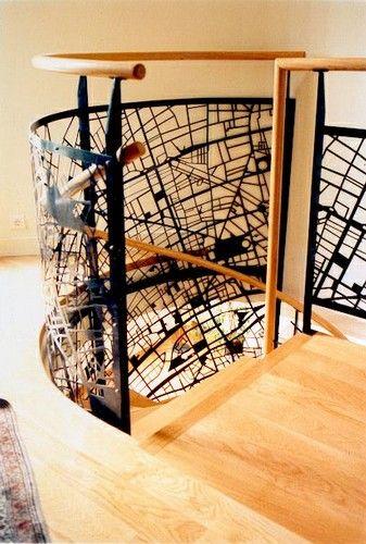 les 16 meilleures images du tableau garde corps ajour sur pinterest escaliers d coupe laser. Black Bedroom Furniture Sets. Home Design Ideas