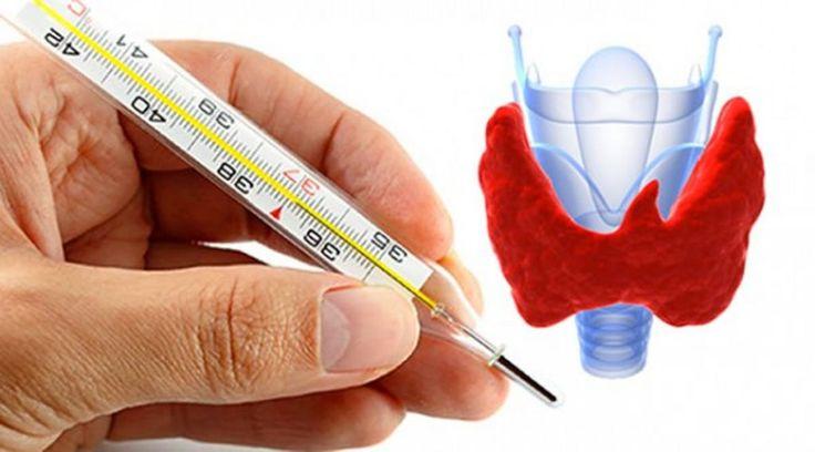 Compruebe su tiroides: Todo lo que necesita es un termómetro
