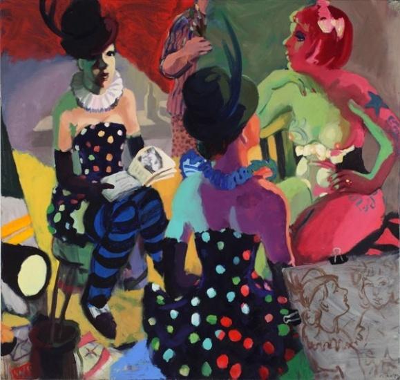 Wendy Sharpe, Glitta and Yas, 2012