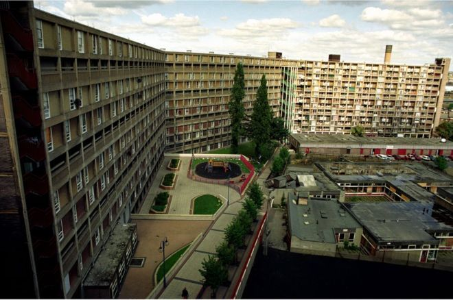 Park Hill flats in Sheffield