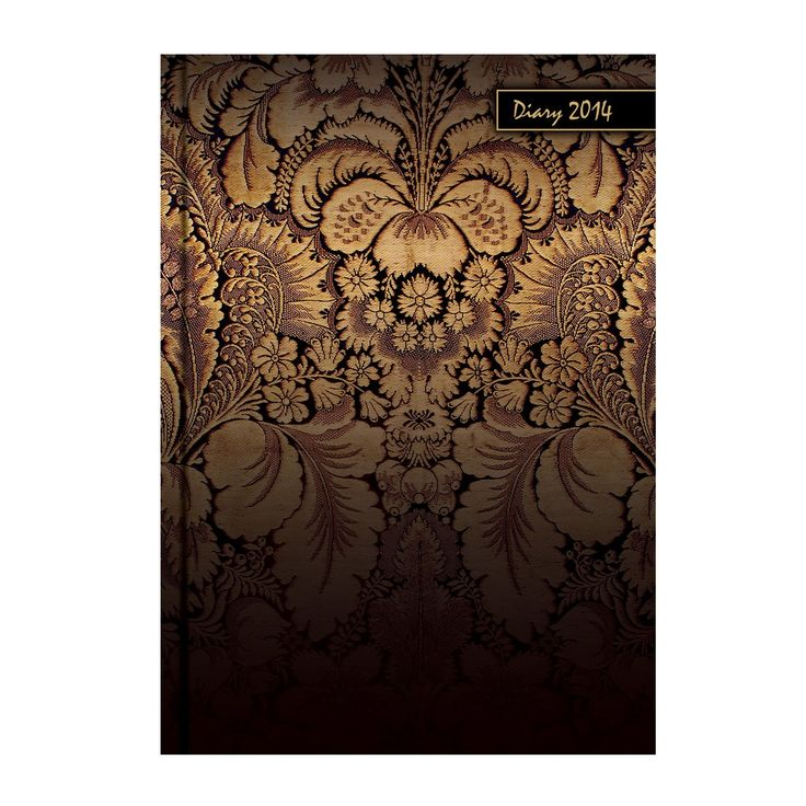 "MatrikaS Metallic 2014 Diary A5-Sd-A 5.82 x 8.07"" - (Pack of 10) - Diaries - Diaries & Planners - Paper Products"