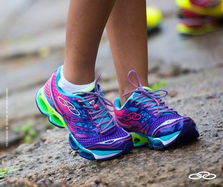 Correr faz você ter uma vontade: correr mais. #olympikus #emmovimento #olympikusdecision http://www.magazinemartinense.com.br/calcados-femininos/tenis/tenis-olympikus-decision-026-uva-celeste/