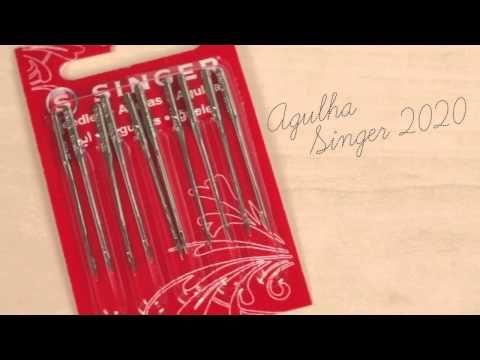 Entenda qual é a agulha certa para cada trabalho e como colocá-la na sua Singer.
