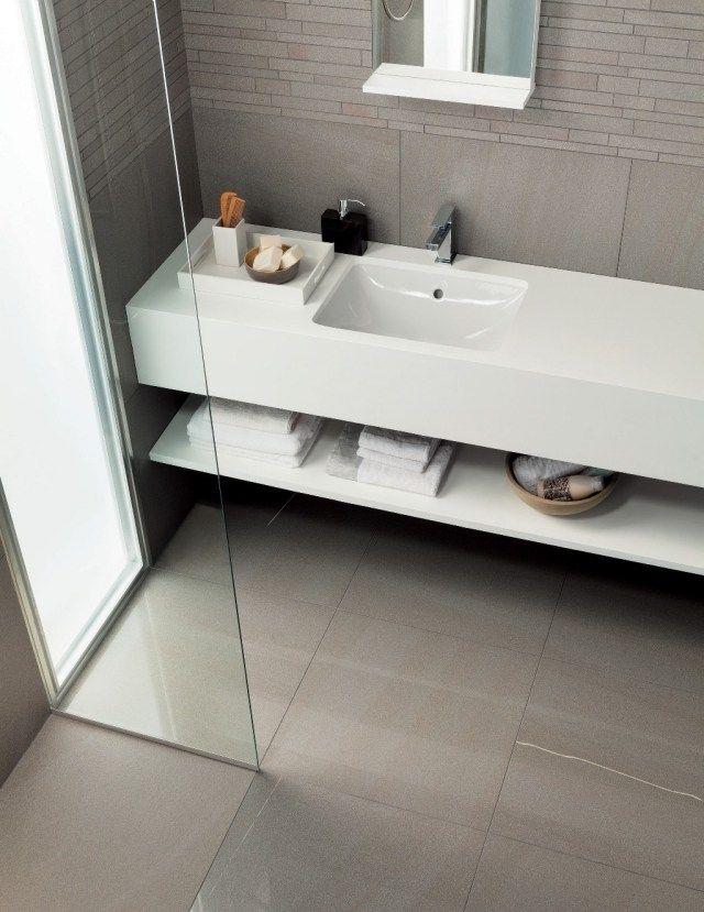 Carrelage salle de bains 12 id es par mirage pour s for Changer carrelage salle de bain
