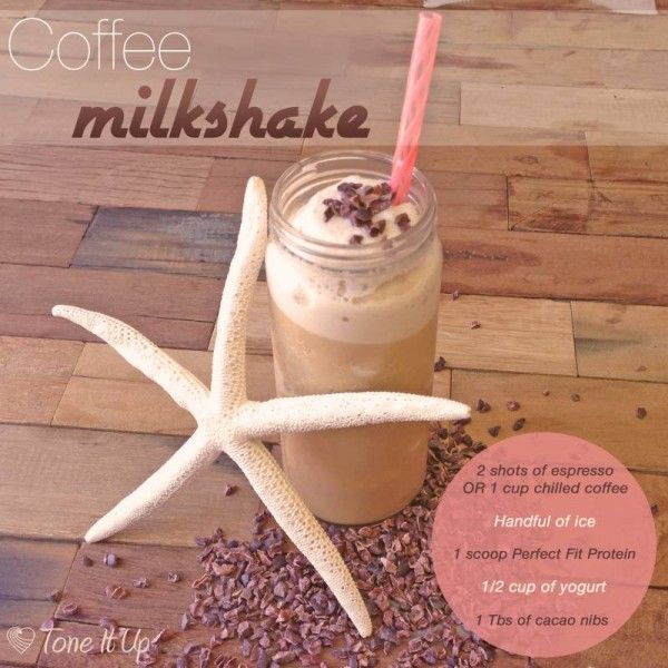 Cool down with this deliciously decadent ~ yet healthy ~ Coffee Milkshake!
