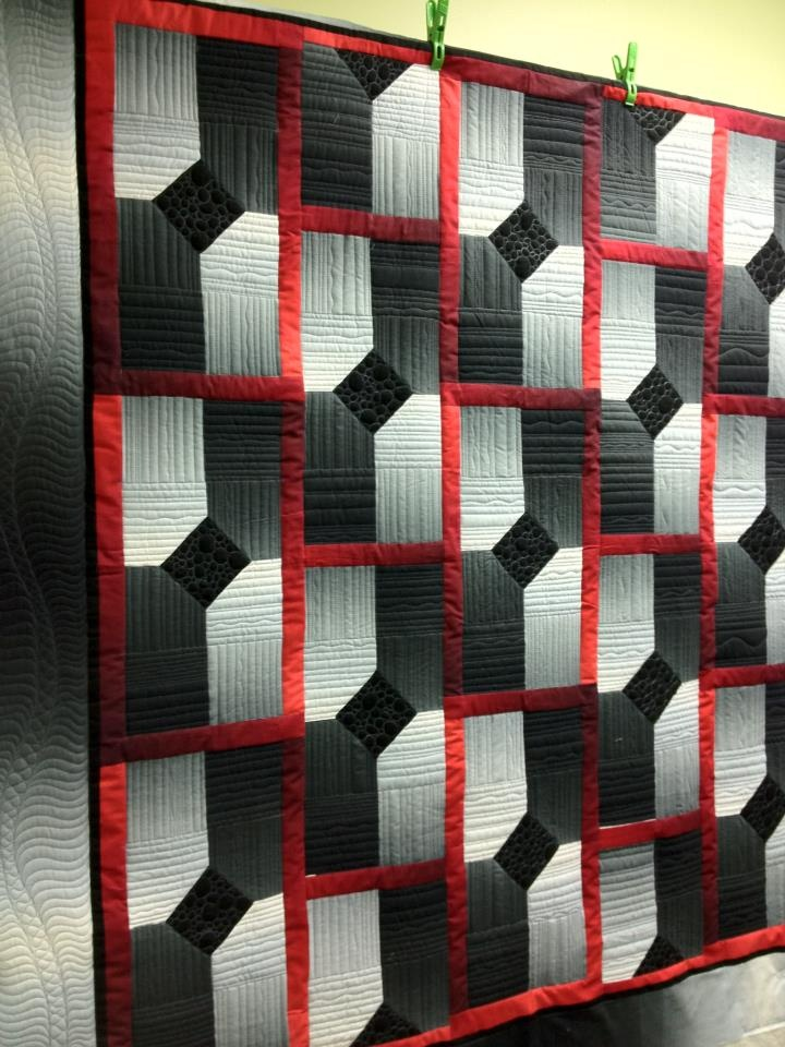141 best grey and black quilts images on pinterest for Black white and gray quilt patterns