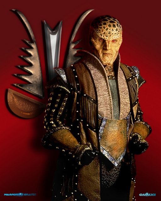 Narn Ambassador G'Kar | Babylon 5 -::- my All-Time Fav TV show ... Forces of light & dark struggle to come terms with each other on a cosmic scale with vivid genuine characters