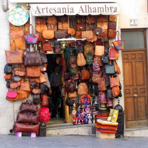 Leather Shop - Toledo, Spain
