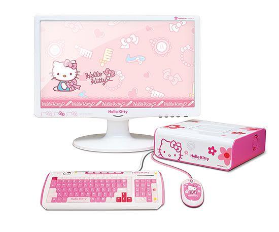 Hello Kitty Desktop Computer