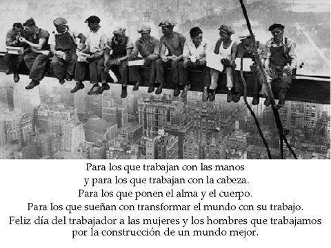 Feliz Día Del Trabajador!!!