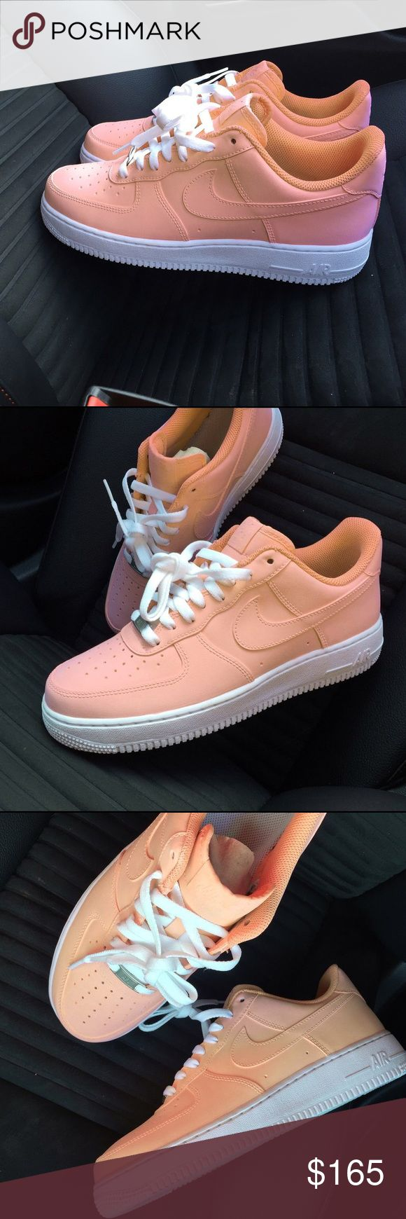 Custom Air Force Ones New With Box Nike Shoes Athletic Shoes