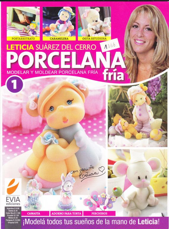 Cold Porcelain Magazine 1 2011 by Leticia Suarez del by AmGiftShoP, $12.99