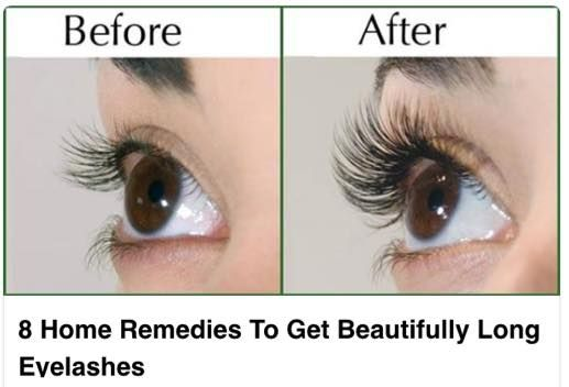 Let us take a look at how to naturally make eyelashes longer and beautiful.    1. Remove Eye Makeup at the End of the Day: Makeup clogs the skin around the