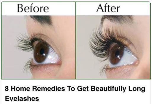 Let us take a look at how to naturally make eyelashes ...