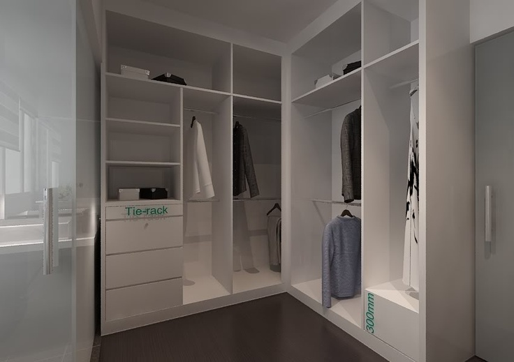 Walk In Wardrobe Ideas For The Home Pinterest