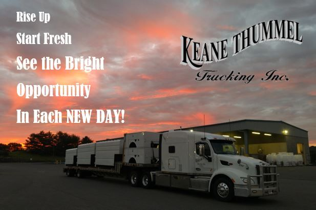 Rise Up Start Fresh See The Bright Opportunity In Each New Day Driving Jobs Truck Driving Jobs Truck Driver Jobs