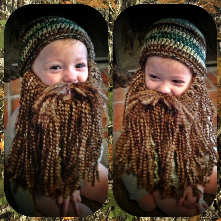 This is hilarious! I know what I am making for all the kids this Christmas! Duck Dynasty Beard and Hat Pattern pattern on Craftsy.com