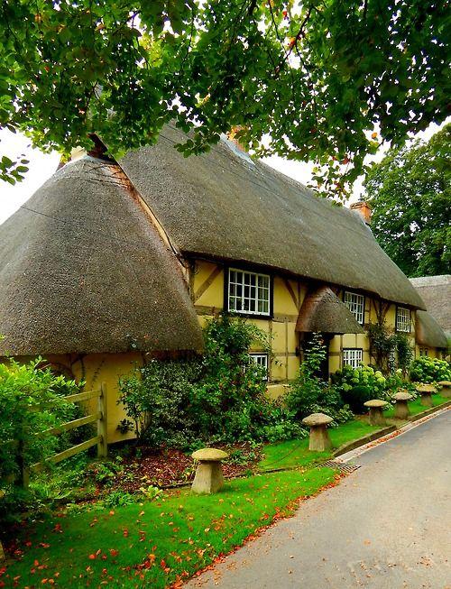 Wherwell, Hampshire, England UK
