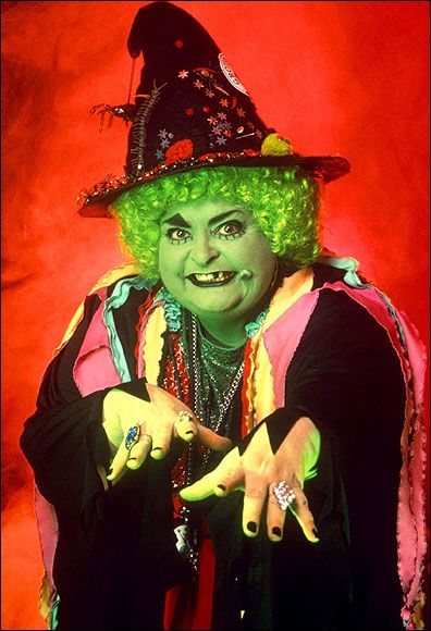 Grotbags! Scared me to death she did! Luckily Rod hull and Emu was around to save the day!