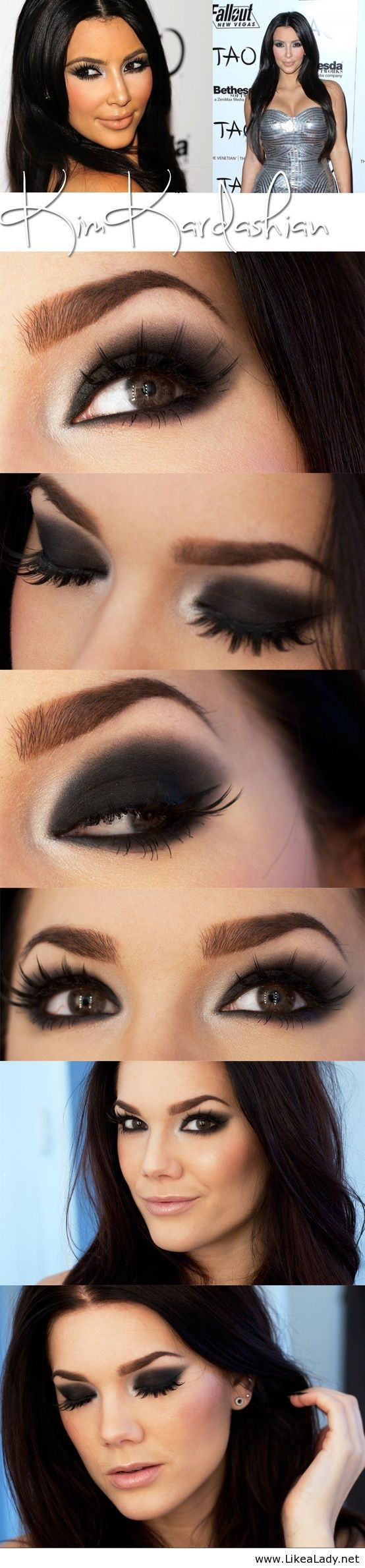 If you are going to wear this look you will definitely need some falsies! Some great ones that aren't too dramatic are by Ardell- Demi whispies.