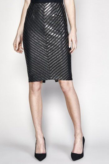 Glimmer of Hope Pencil Skirt by Minkpink