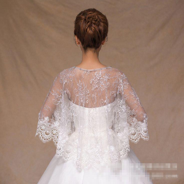 Свадьба ну вечеринку вечернее платье кружева пончо свадьба обертывания свадебные упаковка свадебные аксессуары свадебный платок куртка болеро Mariage купить на AliExpress