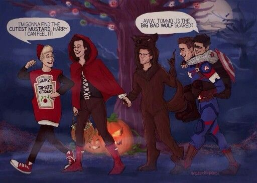 One Direction Fanart || this is so cute // @starrybeauty