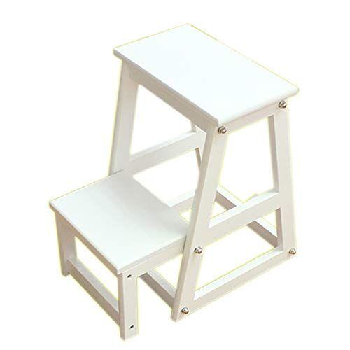 Step Stool, Adult Portable Folding Ascending Stool, Kitchen Bedroom ...