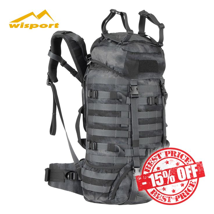 15% off Wisport Raccoon 45L Rucksack in A-TACS LE camouflage! Was £129.95, Now £110.45. Save £19.50! For a limited time only - while stocks last. Find out more at Military 1st online store. Free UK delivery and returns! Competitive overseas shipping rates.